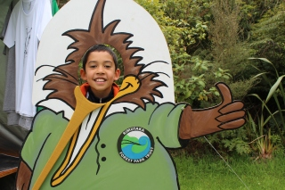 Celebrating the launch of Kiwi Ranger at the Rimutaka Forest Park